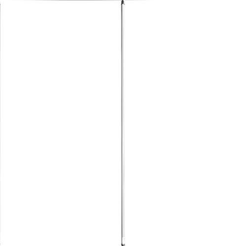 "Wholesale 72"" METAL TUBULAR HANDLE WHITE"