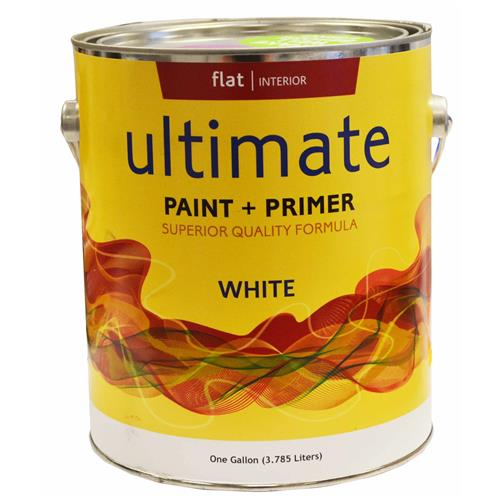 Wholesale 1 Gallon Flat White Paint