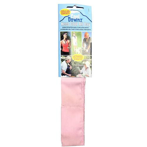 Wholesale Cool Downz Neck-Cooling Wrap singles- Pink