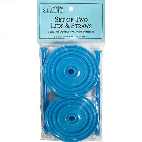 Wholesale 2PK AQUA LIDS & STRAWS FOR 13O
