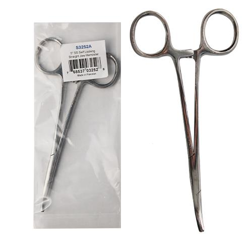 Wholesale 5'' CURVED HEMOSTAT STAINLESS