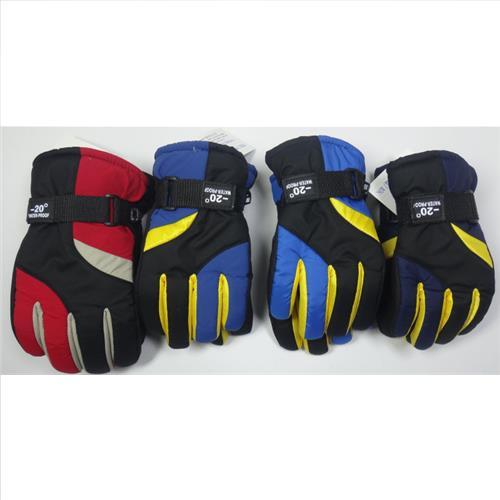 Wholesale Microfleece KIDS Ski Gloves Assorted