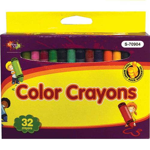 Wholesale Colored Crayons 32 in Box