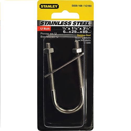 Wholesale STAINLESS U BOLT 1/4x1-1/8x3.5