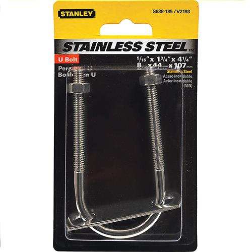 Wholesale STAINLESS U BOLT 5/16x1-3/4x4.