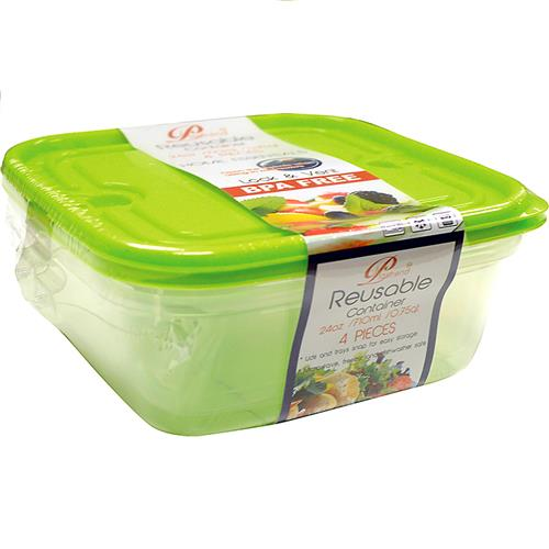 Wholesale 2PK LOCK & VENT FOOD CONTAINER