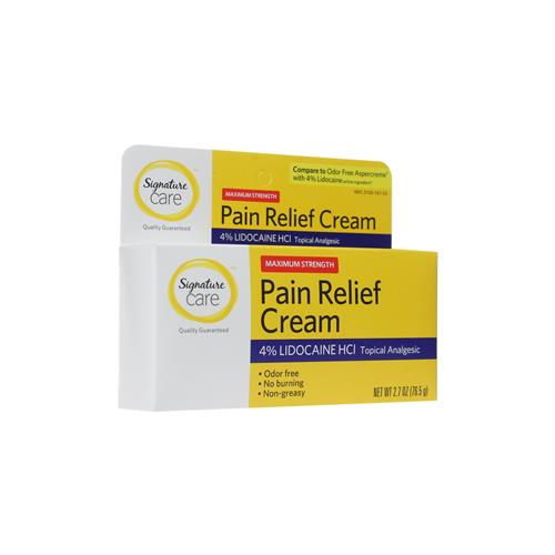 Wholesale PAIN RELIEF CREAM 4% LIDO. 12/