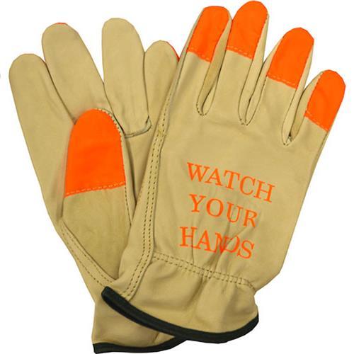 Wholesale Leather Glove, Grain Cow Sz M