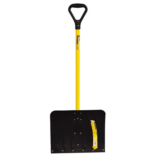 "Wholesale 18"" ALUMINUM SNOW SHOVEL FIBER"