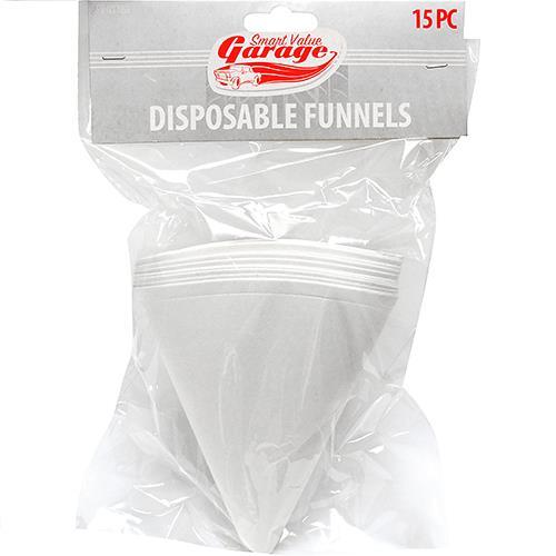 Wholesale Paper disposable funnels - 15 ct.