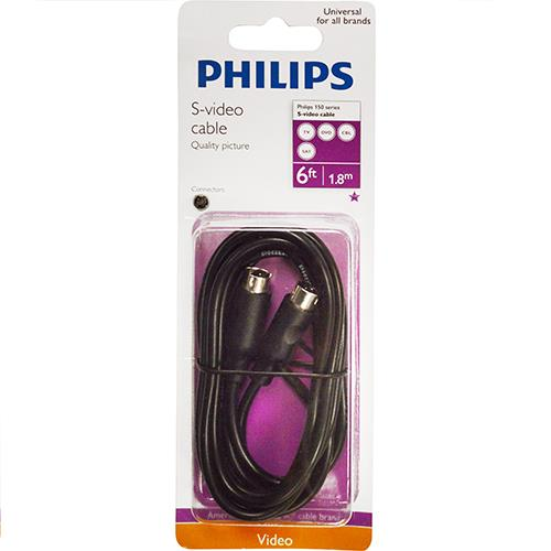 Wholesale 6' BLACK S VIDEO CABLE