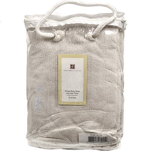 Wholesale Bath Wrap & Hair Twist - Silver