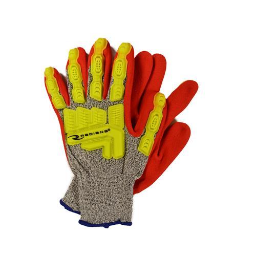 Wholesale Cut Glove, sz 2XL, Gry 13Ga HP