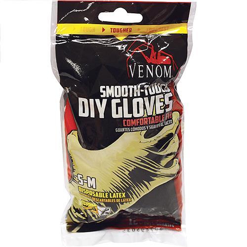 Wholesale Latex Gloves -12 ct.  Small-Medium.