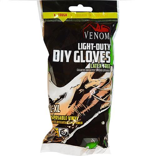 Wholesale Vinyl gloves. 12 ct. large - X large.