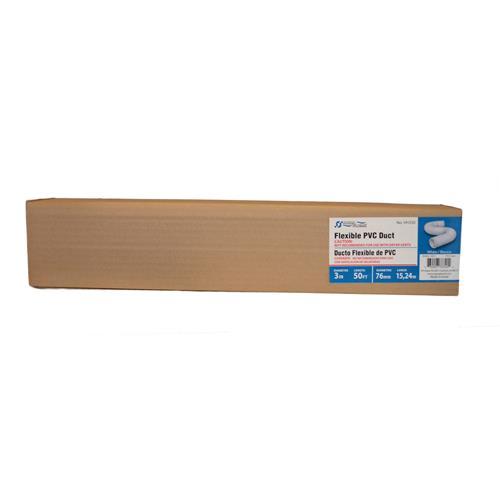 """Wholesale 50' x 3"""" FLEXIBLE PVC DUCT"""