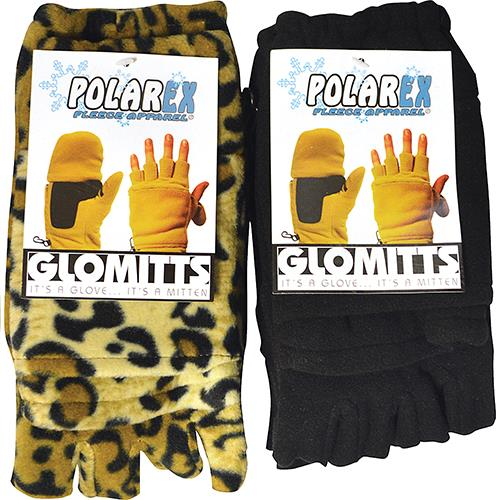 Wholesale POLAR FLEECE GLO/MITTENS ASSTD