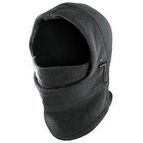 Wholesale 6 IN 1 FLEECE HOOD CHARCOAL &