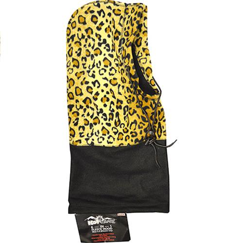 Wholesale Hot Headz 6 in 1 Hood, Facemask, Balaclava, Beanie, Scarf, Bag. Leopard