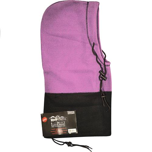 Wholesale Hot Headz Hood, Facemask, Scarf, Beanie, Balaclava and Bag - Pink/Black