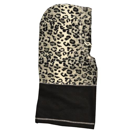 Wholesale Hot Headz 6 In 1 Hood, Facemask, Scarf, Balaclava, Beanie, bag - Snow Leopard