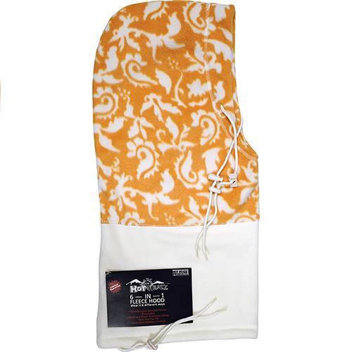 Wholesale Hot Headz 6 In 1 Hood, Facemask, Scarf, Balaclava, Beanie, bag - White Paisley