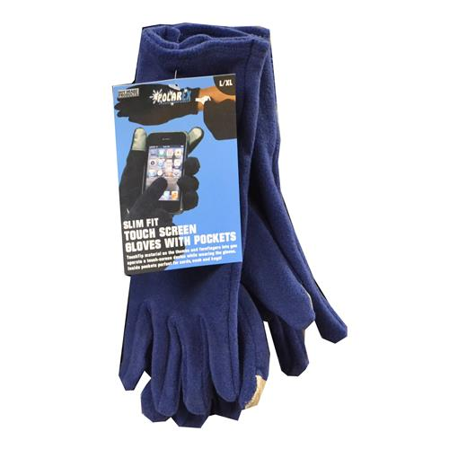 Wholesale WOMENS TEXTING GLOVES-NAVY S/M