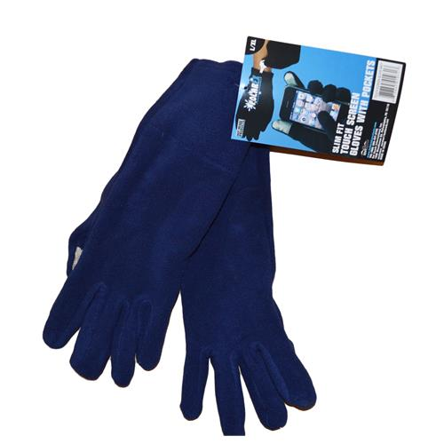 Wholesale WOMENS TEXTING GLOVES-NAVY L/X