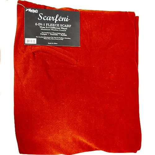 Wholesale SCARFINI 6 IN1 SCARF -RED