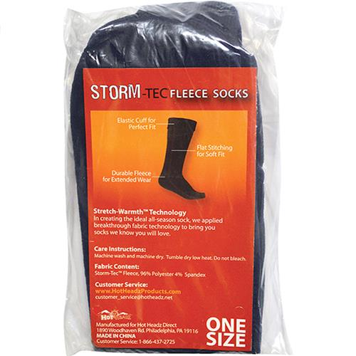 Wholesale storm fleece sock setsnavy
