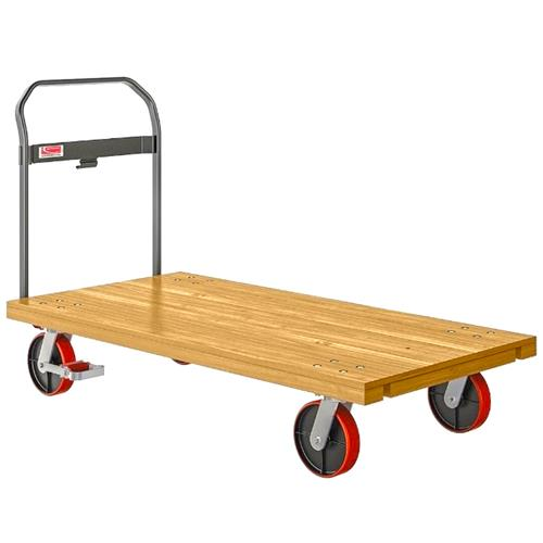 "Wholesale 30x60"" WOOD PLATFORM TRUCK 1000LB COMMERCIAL GRADE"
