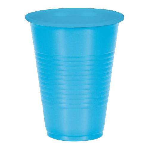 Wholesale 10CT 9.5 OZ. PLASTIC CUPS BLUE