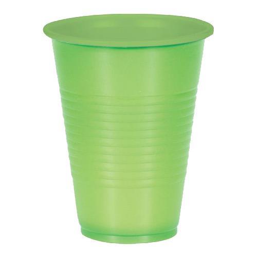 Wholesale 10CT 9.5 OZ. PLASTIC CUPS GREEN