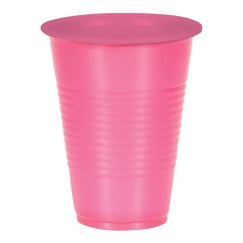 Wholesale 10CT 9.5 OZ. PLASTIC CUPS PINK