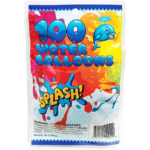 Wholesale 100 COUNT WATER BALLOONS