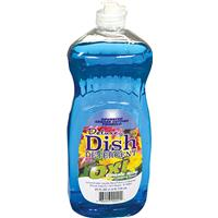 Wholesale Deluxe Liquid Dish Soap w/ Oxi Blue Classic