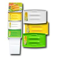 "Wholesale CORN SERVING PLATTER 13x8"" Green, White & Yellow"