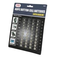 Wholesale 40 Piece Button Cell Batteries