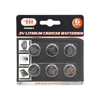 Wholesale 6pc 3V LITHIUM CR2032 BATTERY
