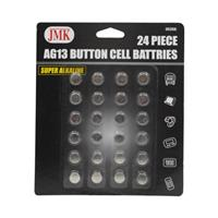 Wholesale 24pc AG13 Button Cell Batteries