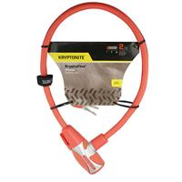Wholesale KRYPTOFLEX 1265 BIKE KEY CABLE RED 2.125' x 12MM
