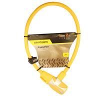 Wholesale KRYPTOFLEX 1265 BIKE KEY CABLE YELLOW 2.125' x 12MM