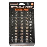 Wholesale 30 Piece Button Cell Batteries