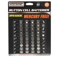 Wholesale 40 Piece Button Cell Batteries