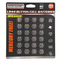 Wholesale 24pc AG13 Button Cell Batteries
