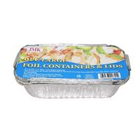 Wholesale 4pc Large Foil Containers & Lids