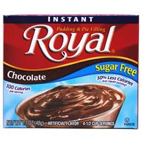 Wholesale Royal Instant Pudding Sugar Free Chocolate