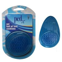 Wholesale 2PK GEL BALL OF FOOT CUSHIONS UNISEX PED-X 6-7PX