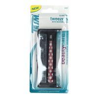 Wholesale SLANT TWEEZERS WITH MIRROR CASE TRIM 5-36B