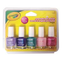 Wholesale 5CT SCENTED NAIL POLISH 5ML/BOTTLE